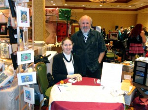 Sue and Michael at Pantheacon 2012